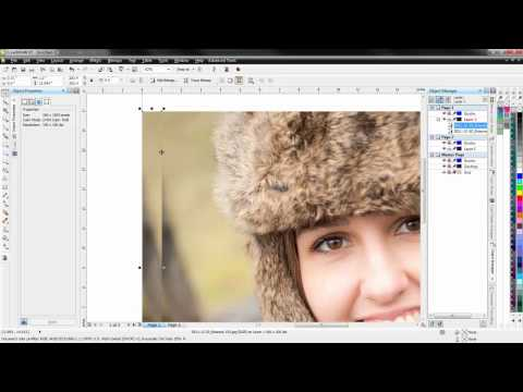 Setup a canvas project in Corel Draw