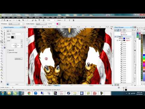 Corel Draw - working with bitmaps - Part I.mp4