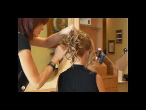 claudia - west palm beach hair salon - fast simple uphair with only thread