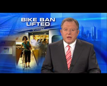 Part One: Kosky backflips on peakhour bicycle bans