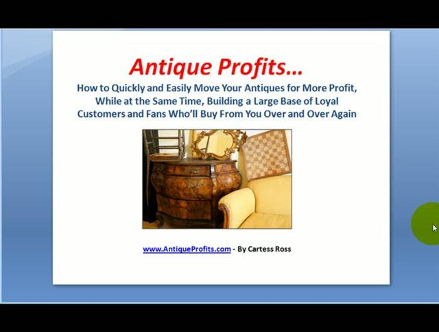 Start Your Own Antiques TV Show!