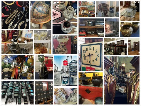 Del Mar Antique Show & Sale - Preshow Video (November 2015)