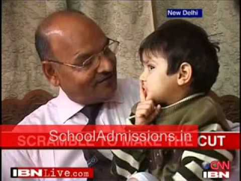 SchoolAdmissions.in Delhi - Confusion prevail over Nursery Admissions on Results Day - CNN IBN 1st…