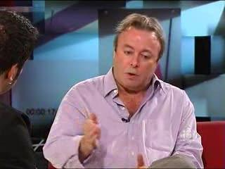 The Hour: Interview with Christopher Hitchens (Part 1)