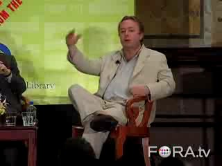 Christopher Hitchens vs Al Sharpton on Atheism and God - The Full Debate