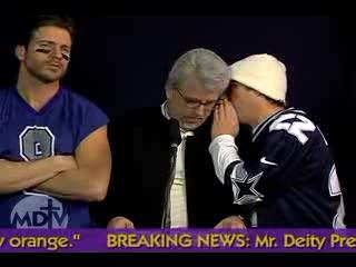 Mr. Deity Episode 6: Superbowl Extra - The Press Conference