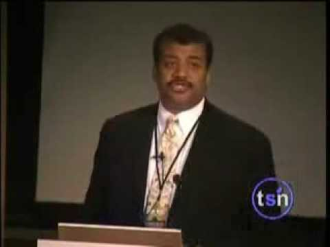 Neil deGrasse Tyson - Gods retreat from cosmology