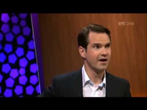 Jimmy Carr defends Atheism on the Late Late