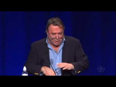 Christopher Hitchens - Indicting God for Fine Tuning