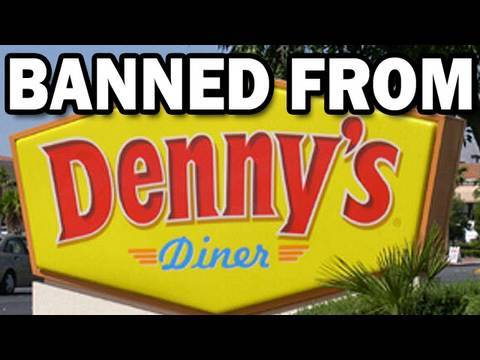 Banned From Denny's - The Amazing Atheist