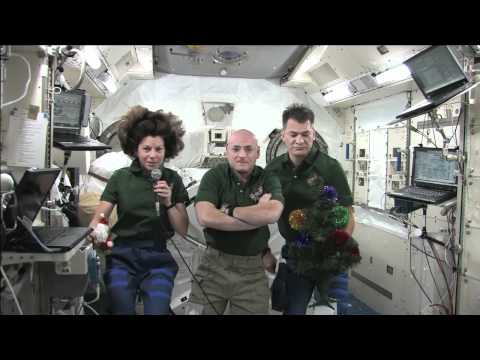 Merry Christmas From The International Space Station