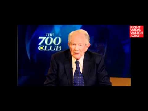 Pat Robertson _ God Will Destroy America Because of Gay marriage