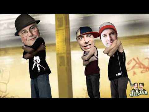 Hitchens, Dawkins and Harris in a kickass atheist breakdance battle