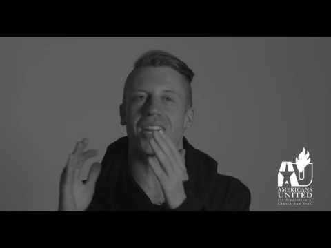 Macklemore is one of the Voices United
