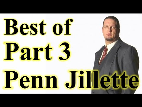 Best of Penn Jillette Arguments And Comebacks Part 3