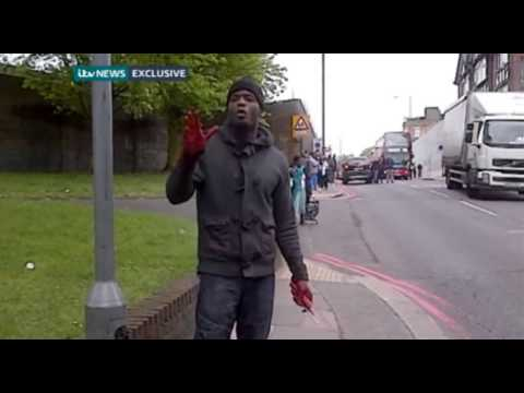 Video of Woolwich Terrorist