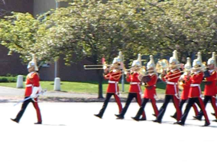Start of Passing Out Parade