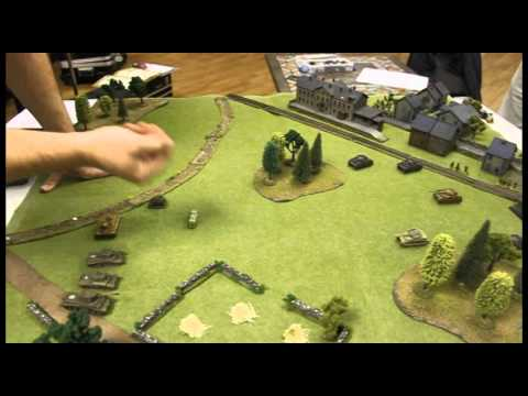 Command Combat Battle Report - Late War - Brit armor v German Infantry.wmv