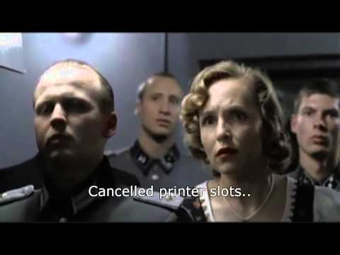 Hitler learns Total War is delayed again.