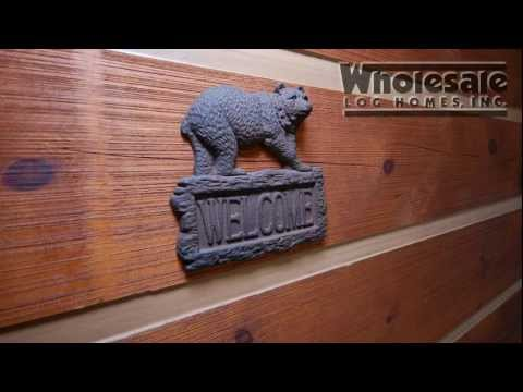 Logs For Log Homes & Cabins Wholesale