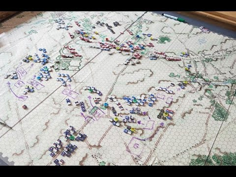 Waterloo - 11:20am - Reille's corps advances on Hougoumont, and Wellington responds