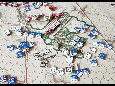 Waterloo - 11:40am - Foy moves into the Hougoumont woods, and Wellington rides to take command!