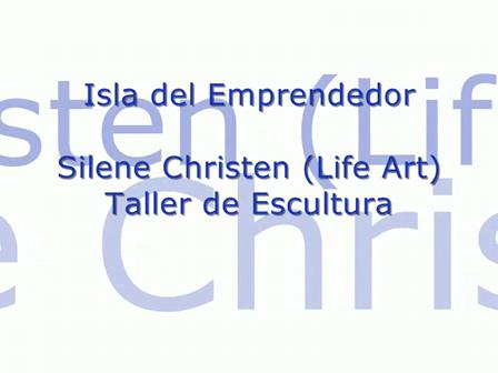 Taller de escultura con Silene Christen