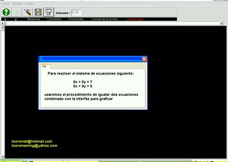 Sistemas de ecuaciones lineales 2x2 (Solución gráfica)