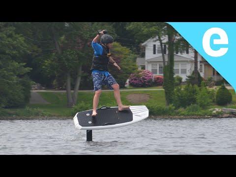 First ride: Lift eFoil electric hydrofoil board on Electrek