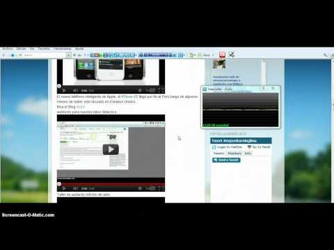 Aplicaciones didácticas con la web 2.0