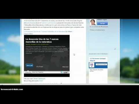 aplicaciones didácticas de la web 2.0 Diciembre 2011