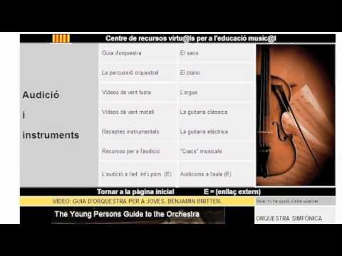 Centre de recursos virtu@al para la Educación musical