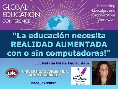 La educación necesita más Realidad Aumentada, con o sin computadoras. Natalia Gil
