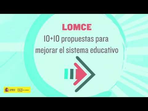 LOMCE Ley Orgánica de Educación