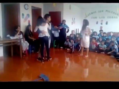 """FONOMIMICA:"""" A ESA"""" REALIZADO EN EL COLEGIO PRIVADO""""CATOLICA SANTA MARIA""""-SJL-LIMA"""