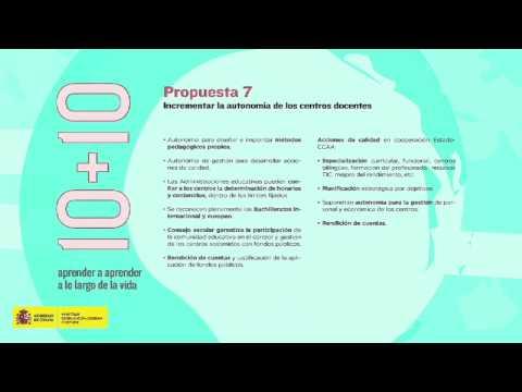 LOMCE: 10 + 10 Propuestas