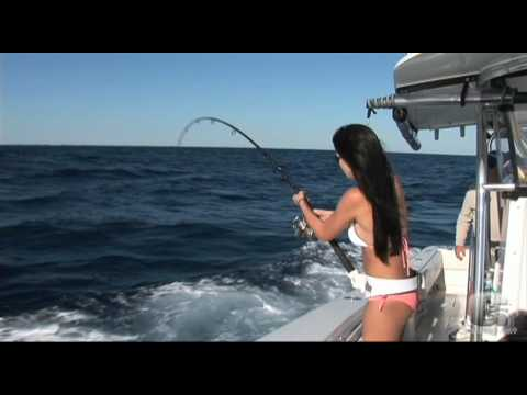 Devan vs. the Barracuda - GAFF Girl Reels in a Beautiful Cuda