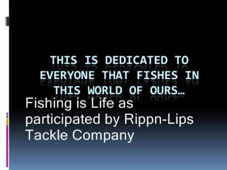 Rippn-Lips Greatness Promo Video