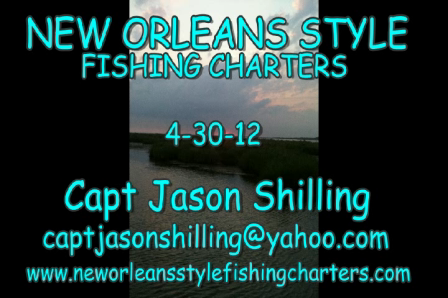 CATCHING RED FISH NEW ORLEANS STYLE