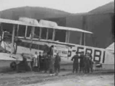 First In-Flight Movie, The Lost World (1925)