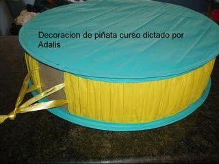Como hacer una piñata de tambor