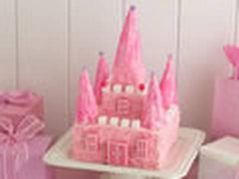 Cómo hacer una tarta con forma de Castillo