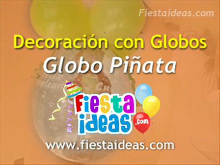 Curso de Decoración - Globo Piñata