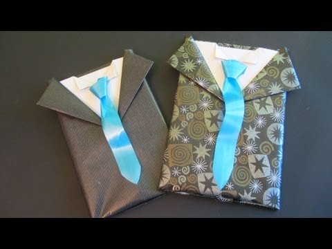 Envoltorio de regalo para caballero