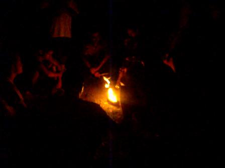 Ceremony at night