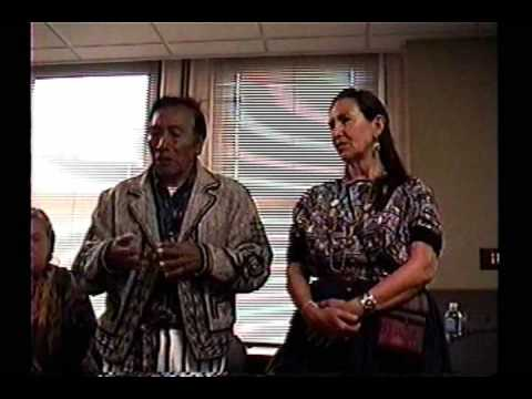 Maya elder Don Alejandro in Pittsburgh 2012 Prophecy part 2
