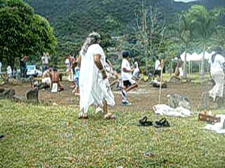 Communal Dance Ceremony Fifth Annual Jornada Indigena Taina 2009