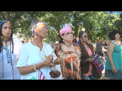 2011 Indigenous Day of Remembrance NY