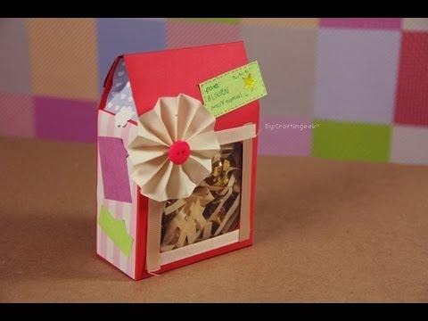 Cajita sorpresa - dulces y/o regalo