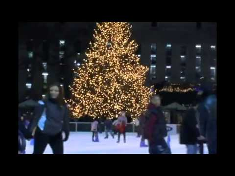 Christmas in NYC-Night Lights-Little Rain Flower Music Video..